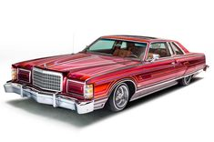 """At the 2016 Grand National Roadster Show, Rudy Sandoval shook the Lowriding-world once again with another Ford LTD which he calls """"Bad Blood."""""""