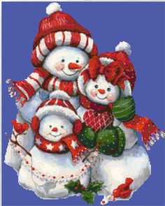 Buy 1 and Get 1 Free Coupon Cute Snowman and Kid Cross Stitch Pattern Counted Cross Stitch C Christmas Scenes, Christmas Pictures, Christmas Snowman, Christmas Crafts, Christmas Decorations, Christmas Ornaments, Snowmen Pictures, Cute Snowman, Christmas Paintings