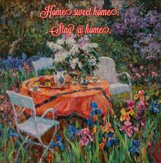 Sweet Home, Artist, Painting, Pictures, Photos, House Beautiful, Artists, Painting Art, Paintings