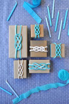 DIY Nautical Favor Boxes