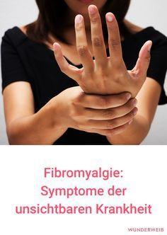 Fibromyalgie: Das sind die Symptome der unsichtbaren Krankheit. #gesundheit #gesundesleben #gesundheitswissen