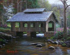Nice covered bridge cabin solution ?