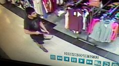 This frame from surveillance video provided by the Washington State Patrol shows the suspect in a shooting rampage that killed five people at the Cascade Mall in Burlington, Wash. Authorities are seeking the public's help in identifying and locating the suspect, who remained at large Saturday.