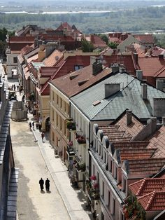 Sandomierz, Poland - one of the oldest towns in Poland.