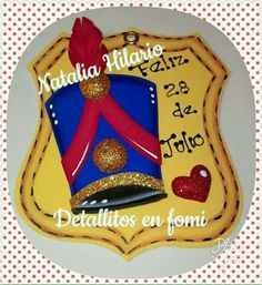 Recuerdo para las fiestas patrias Fajardo, Corpus Christi, Birthday Candles, Activities, Crafts, Diy, Ideas, Molde, Costumes