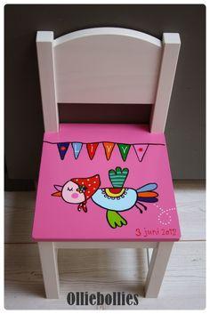 #geboortestoeltje nav #geboortekaartje: www.olliebollies.nl