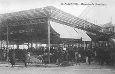 EL MERCADO CENTRAL EN LA HISTORIA DE ALICANTE (1922-2012) ~ Alicante Vivo