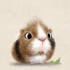 L'artiste Sydney Hanson a réalisé une série de dessins aux crayons dans laquelle il représente des animaux. Des petits animaux trop trop cute avec des grand yeux, des petits animaux qui vont vous donner le sourire. Même l'araignée qui fait peur normalement va vous paraître trop cool. Le Faceb…