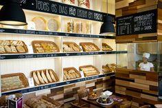 Bakery Decor, Bakery Interior, Bakery Display, Bakery Design, Pottery Shop, Gifu, Wooden Decks, Bakery Cakes, Design Furniture