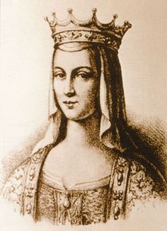 Anne of Kyev, who married Henry I & thereby became queen of France.  By naming their son Philip, Anne is credited with introducing the Greek (from her Eastern Orthodox background) name to the West.