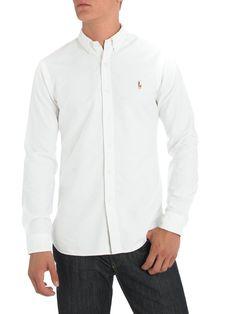Ralph Lauren Polo - Slim Fit Oxford Shirt