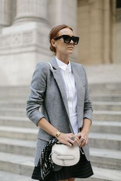 Buttoned Up For NYFW via could i have that?