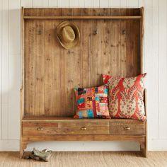 TILDEN BENCH - Stools & Benches - Furniture - Furniture & Decor | Robert Redfords Sundance Catalog