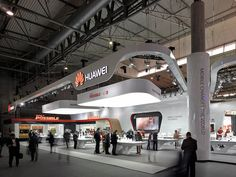 Huawei stand at MWC 2014 Designed by Communication by Design