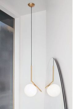 Flos IC Light S Pendant Lamp at Stardust. IC Pendant S by Flos are jewel-like Light Fixtures made by Flos. Farmhouse Lighting, Rustic Lighting, Industrial Lighting, Home Lighting, Lighting Design, Lighting Stores, Lighting Ideas, Modern Lighting, Deco Luminaire