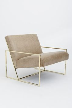 A Chic, Mid-Century Lounge Chair You Need to Own (Furniture Designs Ideas) Sofa Design, Interior Design, Interior Plants, Interior Colors, Design Room, Interior Ideas, Modern Interior, Interior Decorating, Decorating Ideas