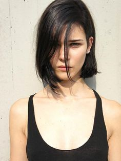long bob hairstyles round face by rosethomasuk Pretty Hairstyles, Bob Hairstyles, Bob Haircuts, Hairstyle Ideas, American Hairstyles, Casual Hairstyles, Latest Hairstyles, Celebrity Hairstyles, Summer Hairstyles