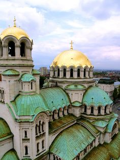 Alexander Nevsky Cathedral, Sofia, Bulgaria- Interrailing plans