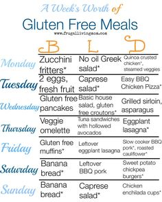 Gluten free and need some meal ideals?  Grab A Week of Gluten Free Meals mealplan(free Printable Download). #gf #glutenfree