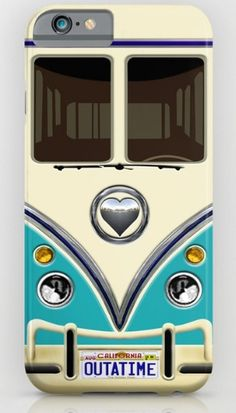 Blue teal minibus lovebug iPhone 4, 5, 6, 7, 8, X Case @pointsalestore @society6Threesecond #iphone #case #cover #cars #van #bus #minibus #minivan #minicars #retro #vintage #classic #oldcars #classiccars #jeep #offroad #wrangler #bigfoot