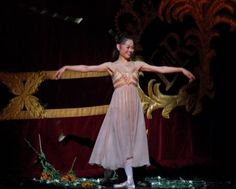 Miyako Yoshida, Japanese ballet dancer, and used to be a female principal dancer with The Royal Ballet of London.