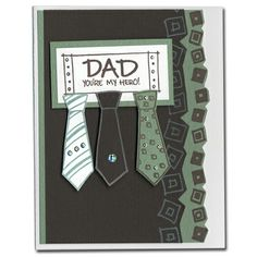Cute father's day or birthday for dad
