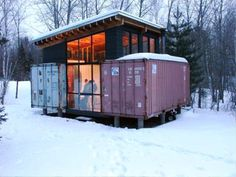 Shipping Container Cabin, $15,000 2 bedder.