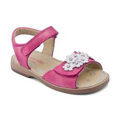Pink Leather Girls Shoes