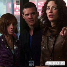 Claudia, Pete, & Myka (Warehouse 13)