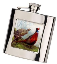 Cherry Tree Country Clothing - Stainless Steel Hip Flask with Pheasant , £16.50 (http://www.cherrytreecountryclothing.com/stainless-steel-hip-flask-with-pheasant/)
