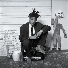 Jean-Michel Basquiat by Dmitri Kasterine