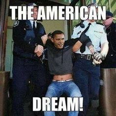 Obama sucks! This is exactly what needs to happen to him!!!