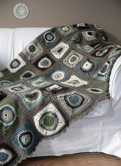 Circles blanket, via Flickr.