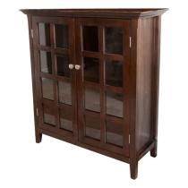 """Simpli Home - Acadian Media Cabinet for Most Flat-Panel TVs Up to 42"""""""