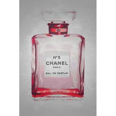 Found it at Wayfair - Chanel No. 5 in Chic Ruby Giclee by Kelissa Semple Graphic Art on Canvas