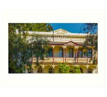 The Gold Mines Hotel - Bendigo, Victoria Art Print