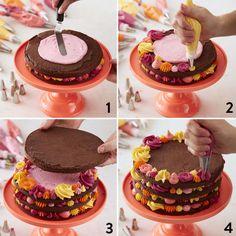 Savory magic cake with roasted peppers and tandoori - Clean Eating Snacks Homemade Chocolate, Chocolate Cake, Citrus Cake, Cake Decorating Tips, Savoury Cake, Mini Cakes, Clean Eating Snacks, How To Make Cake, Cake Designs