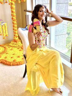 Find latest & trendy outfit ideas for bridal wear like designer saree, bridal lehenga, lehenga blouse designs for all wedding functions from Roka to Reception. #shaadisaga #indianwedding #engagementnightoutfitbrideandgroom #haldioutfits #haldioutfitsforbrides #haldioutfitsyellow #haldioutfitsideas #haldioutfitsforgroom #haldioutfitsformen #haldioutfitsforbridesimple #haldioutfitsforsister #haldioutfitsbridesmaid #haldioutfitsbridesmaidyellow #haldioutfitsideasforbrides #haldioutfitscouple