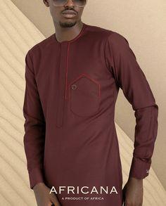 Latest African Men Fashion, African Wear Styles For Men, African Shirts For Men, Nigerian Men Fashion, African Dresses Men, African Attire For Men, African Clothing For Men, Gents Kurta Design, Boys Kurta Design