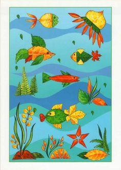 Autumn Crafts, Fall Crafts For Kids, Autumn Art, Nature Crafts, Craft Activities For Kids, Art For Kids, Leaf Crafts, Paper Plate Crafts, Dry Leaf Art