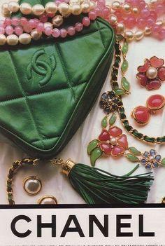 1980s Chanel ad