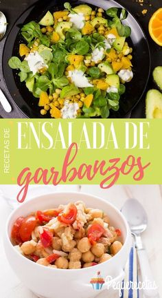 Ensalada de garbanzos: recetas que no olvidarás - Easy Family Recipes Food Healthy Salads, Healthy Life, Healthy Recipes, Cobb Salad, Potato Salad, Meal Planning, Food And Drink, Veggies, Favorite Recipes