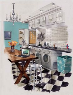 Dallas Blog | Material Girls | Dallas Interior Design » Win a Fab Laundry Room Makeover!