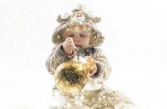 Fotografía de Navidad Model Aria de la Corte