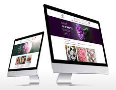 """다음 @Behance 프로젝트 확인: """"Corporate website for Flower shop"""" https://www.behance.net/gallery/40142141/Corporate-website-for-Flower-shop"""