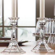Fifth Avenue Crystal Newport Candle Holder 575Inch Set of 2 *** Read more reviews of the product by visiting the link on the image.Note:It is affiliate link to Amazon.