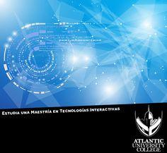 ¿Desde que terminaste tu bachillerato aún no sabes qué maestría estudiar? Estudia nuestra exclusiva Maestría en Tecnologías Interactivas, única en el Caribe. Para más información llámanos al: 787-720-1022 o envíanos un email a: Admisiones@AtlanticU.edu