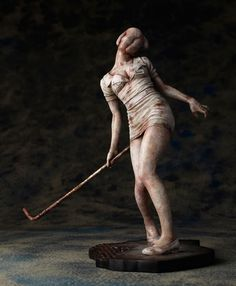 Official Silent Hill 2 Bubblehead Nurse figure