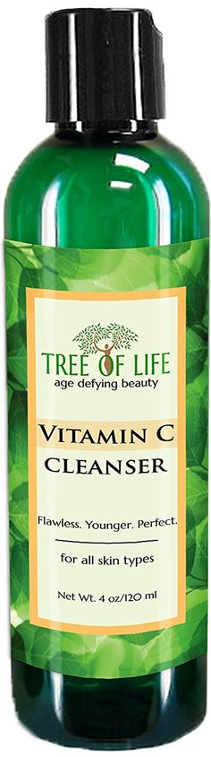 ToLB Vitamin C Facial Cleanser 72% ORGANIC - Anti Aging Anti Wrinkle Moisturizer Cleanser and Rejuvenator - 4 Ounce ** Insider's special review you can't miss. Read more  : Skin care