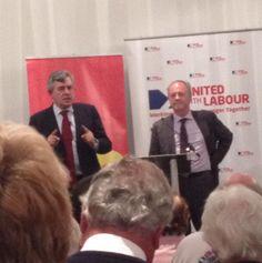 Twitter / Alison2812: Gordon Brown MP and Frank Doran ...